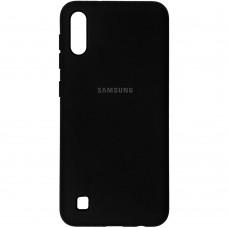 Силикон Original Case (HQ) Samsung Galaxy A10 / M10 (2019) (Черный)
