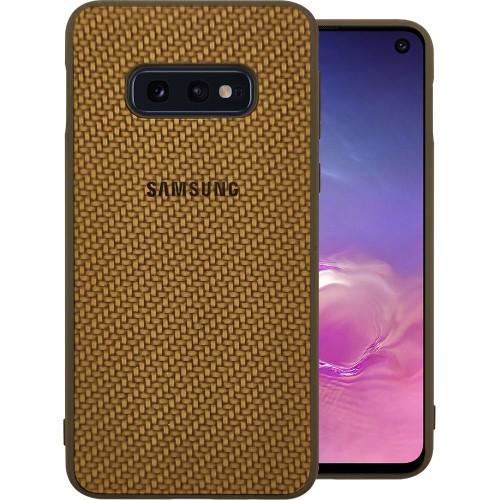 Накладка Plexus Case Samsung Galaxy S10e (Коричневый)