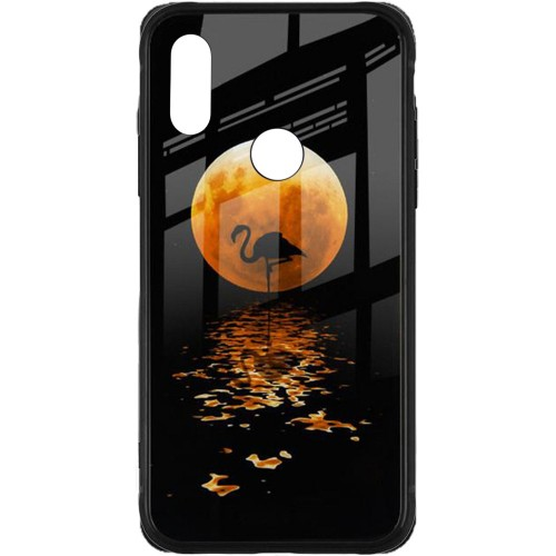 Накладка Luminous Glass Case Xiaomi Redmi 7 (Moon)