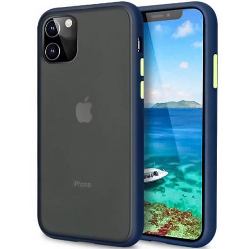 Накладка Totu Gingle Series Apple iPhone 11 (Тёмно-синий)