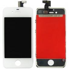 Дисплейный модуль Apple iPhone 4S (White) (High Copy)