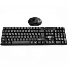 Клавиатура TJ-808 + мышь беспроводная (Чёрный)