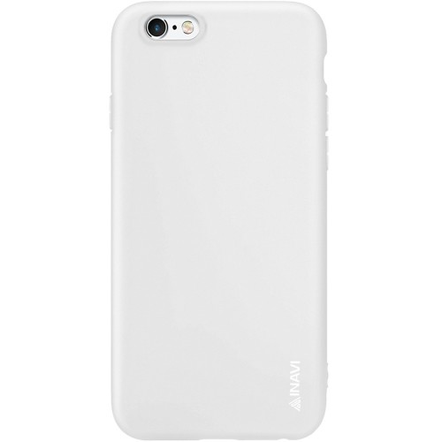 Силикон iNavi Color Apple iPhone 6 / 6s (Белый)