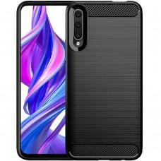 Силикон Polished Carbon Huawei P Smart Pro (Чёрный)