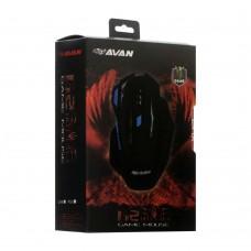 мышь проводная USB Avan G2 Gaming (Чёрный)