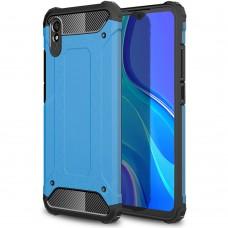 Чехол Armor Case Xiaomi Redmi 9A (Синий)