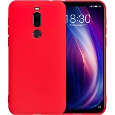Силиконовый чехол iNavi Color Meizu X8 (Красный)