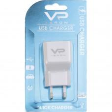 СЗУ-адаптер USB Veron AD-19 QC3.0 18W (Белый)