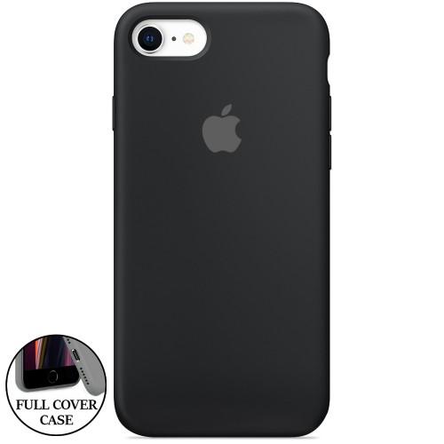 Силикон Original Round Case Apple iPhone 7 / 8 (07) Black