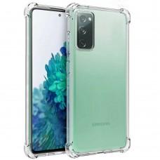 Силикон 6D Samsung Galaxy S20 FE (Прозрачный)