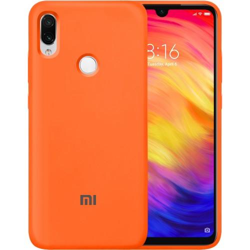 Силикон Original Case Xiaomi Redmi Note 7 (Оранжевый) (уценка) 2 категория