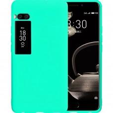 Силикон iNavi Color Meizu Pro 7 Plus (Бирюзовый)