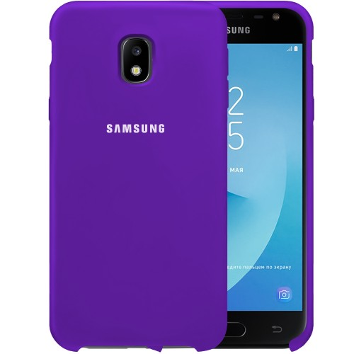 Силикон Original Case HQ Samsung Galaxy J3 (2017) J330 (Фиолетовый)