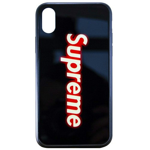 Накладка Luminous Glass Case Apple iPhone XR (Supreme)