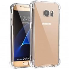 Силикон 3D Samsung Galaxy S7 (Прозрачный)