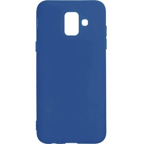 Силикон iNavi Color Samsung Galaxy A6 (2018) A600 (темно-синий)