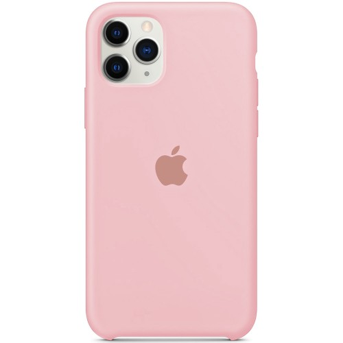 Силиконовый чехол Original Case Apple iPhone 11 Pro Max (08) Pink Sand