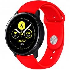 Ремешок Silicone Band Samsung Gear S2 / S3 20mm (Red) Gadgik