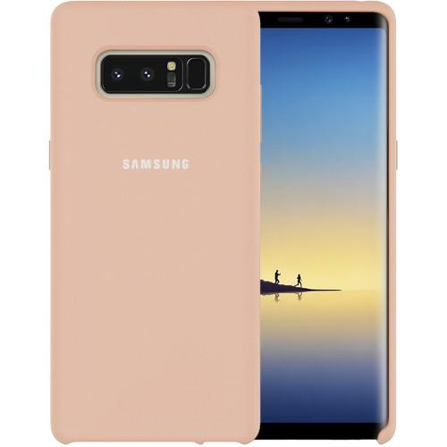 Силиконовый чехол Original Case Samsung Galaxy Note 8 N950 (Пудра)