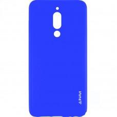 Силиконовый чехол iNavi Color Meizu M6T (Темно-синий)