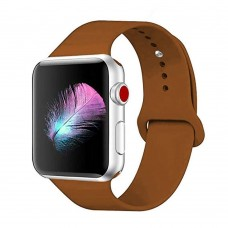 Ремешок Apple Watch Silicone 42 / 44mm (29) Saddle Brown