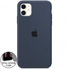 Силикон Original Round Case Apple iPhone 11 (09) Midnight Blue