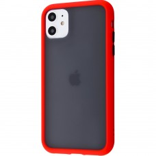 Накладка Totu Gingle Series Apple iPhone 11 (Красный)