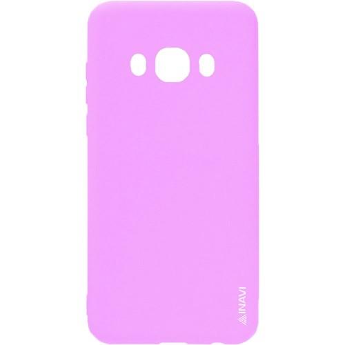 Силиконовый чехол iNavi Color Samsung Galaxy J7 (2016) J710 (розовый)