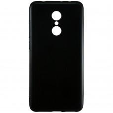 Силиконовый чехол Graphite Lenovo K6 Note (черный)