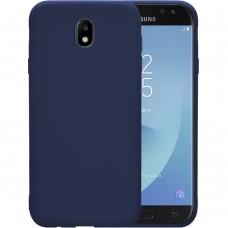 Силикон iNavi Color Samsung Galaxy J5 (2017) J530 (тёмно-синий)