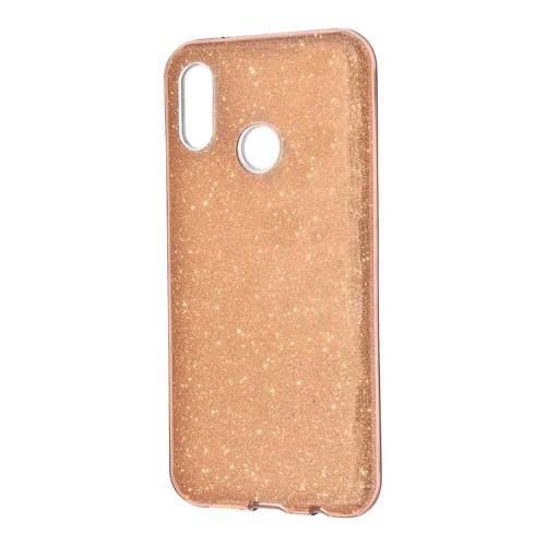 Силиконовый чехол Glitter Xiaomi Redmi Note 5 / Note 5 Pro (Золотой)