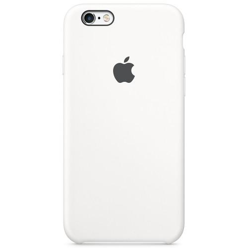 Силиконовый чехол Original Case Apple iPhone 6 Plus / 6s Plus (06) White
