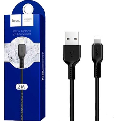 USB кабель Hoco X20 (2m) (Lightning)