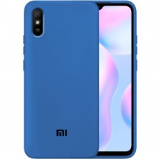 Силикон Original Case Xiaomi Redmi 9A (Кобальт)