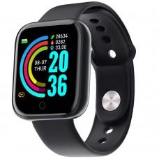 Смарт-часы SmartWatch D20 (Чёрный)