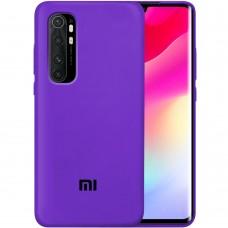 Силикон Original Case Xiaomi Mi Note 10 Lite (Фиолетовый)