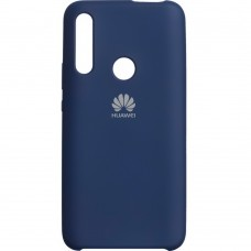 Силикон Original Case Huawei P Smart Z (Тёмно-синий)