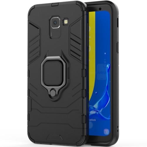 Бронь-чехол Ring Armor Case Samsung Galaxy J6 (2018) J600 (Чёрный)