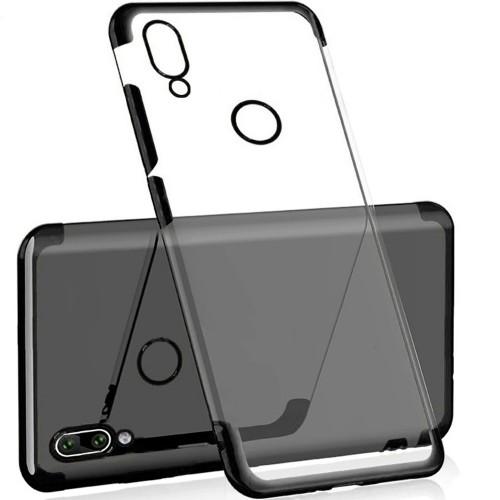 Силиконовый чехол UMKU Line Huawei P Smart Plus / Nova 3i (Чёрный)