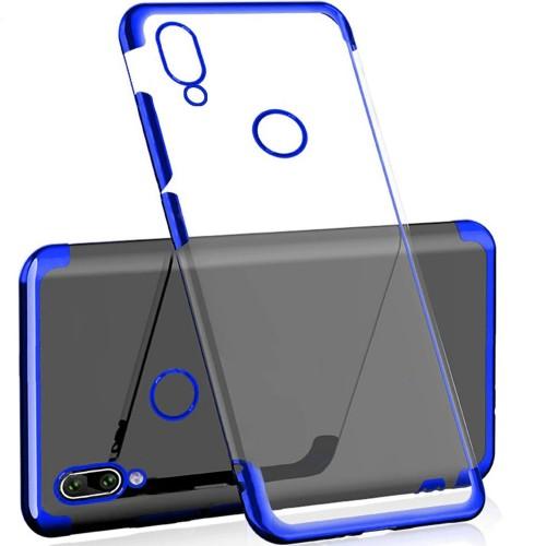 Силиконовый чехол UMKU Line Huawei P Smart Plus / Nova 3i (Синий)