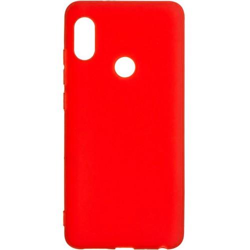 Силиконовый чехол iNavi Color Xiaomi Redmi S2 (красный)