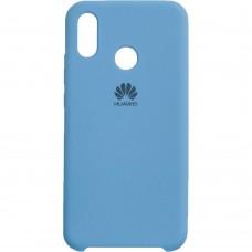 Силиконовый чехол Original Case Huawei P20 Lite (Голубой)