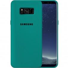 Силикон Original Case Samsung Galaxy S8 (Тёмно-зелёный)