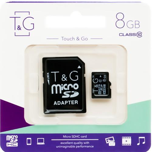 Карта памяти Touch & Go 8Gb (Class 10)
