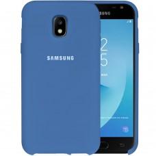 Силикон Original Case HQ Samsung Galaxy J3 (2017) J330 (Светло-синий)