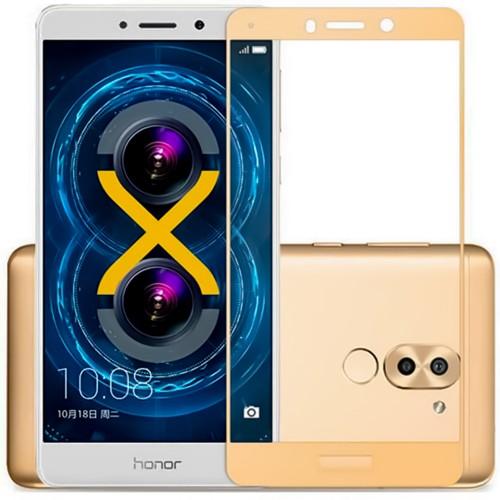 Защитное стекло 5D для Huawei Honor 6x / GR5 Gold