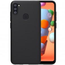 Силикон Graphite Samsung Galaxy M11 (2020) / A11 (2020) (черный)