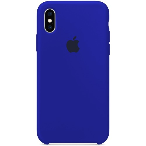 Силикон Original Case Apple iPhone X / XS (48) Ultramarine