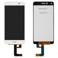 Дисплейный модуль для Huawei Y5 II / Honor 5 / Honor Play 5 (CUN-U29, CUN-L21) (White)