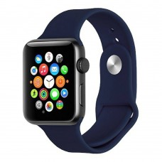 Ремешок Apple Watch Silicone 38 / 40mm (09) Midnight Blue